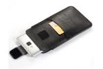 """Сумка-кобура чехол футляр MyPads M-7025 для Huawei Honor V9 5.7"""" (DUK-AL20) c креплением на пояс и отделением для карты из качественной эко-кожи черный"""