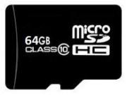microSDHC Class 10 ( 64GB )