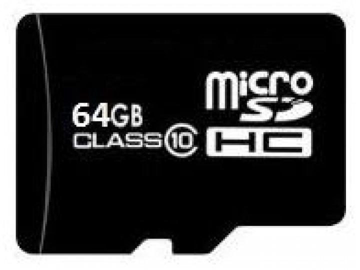Карты флэш-памяти microSDHC Class 10 ( 64GB ) скоростная Подходит для всех устройств