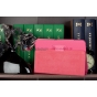 Фирменный чехол-обложка для Acer Iconia Tab A210/A211 розовый