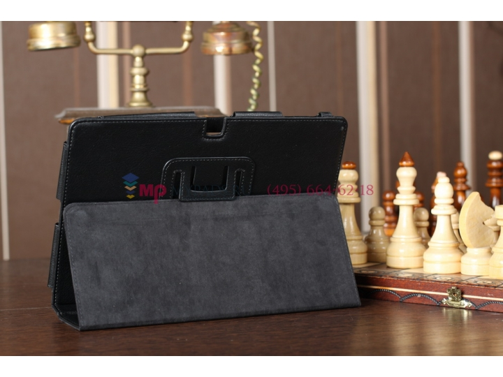 Чехол-обложка для Acer Iconia Tab A510/A511 черный кожаный Оригинал..