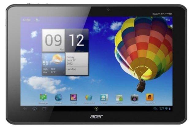 Фирменная защитная пленка для Acer Iconia Tab A510/A511 глянцевая