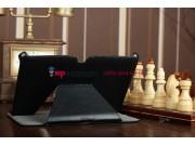 Чехол для Acer Iconia Tab A510/A511 черный кожаный янтарный..
