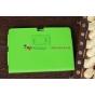 Фирменный чехол-обложка для Acer Iconia Tab A510/A511 зеленый кожаный..