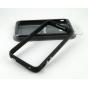 Чехол-бампер для Apple iPhone 4/4S черный силиконовый..
