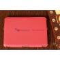 Фирменный чехол для Amazon Kindle Fire HD 7.0 красный кожаный