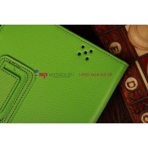 Фирменный чехол-обложка для Amazon Kindle Fire HD 7.0 зеленый кожаный