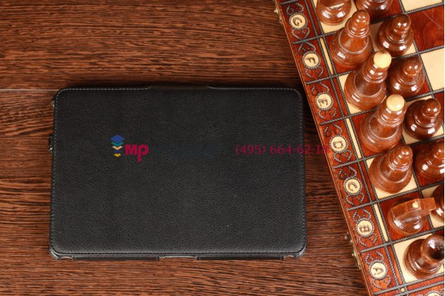 Фирменный чехол для Amazon Kindle Fire HD 8.9 черный кожаный