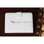 Чехол для Amazon Kindle Paperwhite белый кожаный