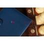 Чехол для Amazon Kindle Paperwhite синий кожаный