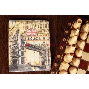 """Чехол для iPad 2/3/4 """"тематика я люблю Лондон"""" №2"""