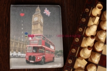 """Чехол для iPad 2/3/4 """"тематика я люблю Лондон"""" №5"""