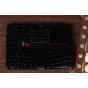 Фирменный чехол для Asus Transformer Pad TF300 кожа крокодила черный