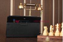 Фирменный оригинальный чехол для Asus Transformer Pad TF300/TF300TG/TF300TL черный кожаный