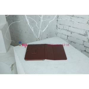 Чехол для Samsung 8.9 P7300 коричневый кожаный
