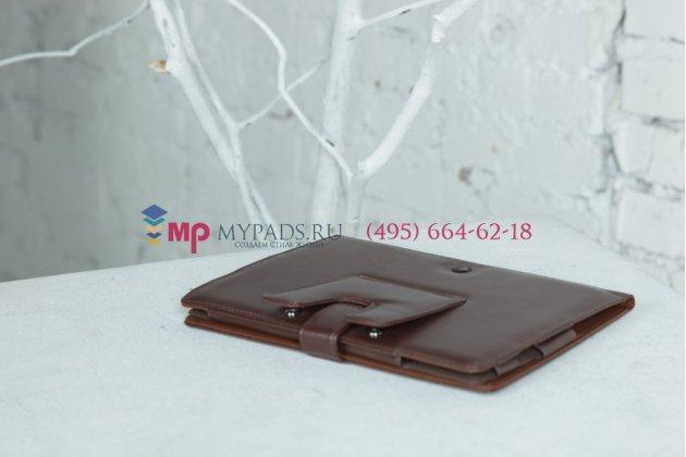 Чехол для Sony Tablet S черный кожаный