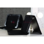 Чехол для Asus EEE Pad Transformer Prime TF201/TF201G черный c секцией под клавиатуру кожаный..