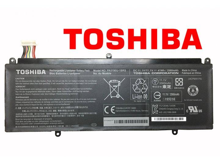 Фирменная оригинальная аккумуляторная батарея PA5190U-1BRS для ноутбука Toshiba Click 2 Pro/ P35W-B/ P35W-B322..