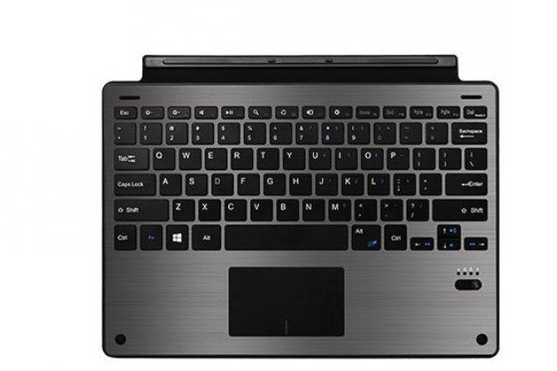"Съемная клавиатура Microsoft Surface Pro 4 Type Cover с магнитным креплением для Microsoft Surface Pro 4 12.3"" (i5/m3/i7) стального  цвета + гарантия"