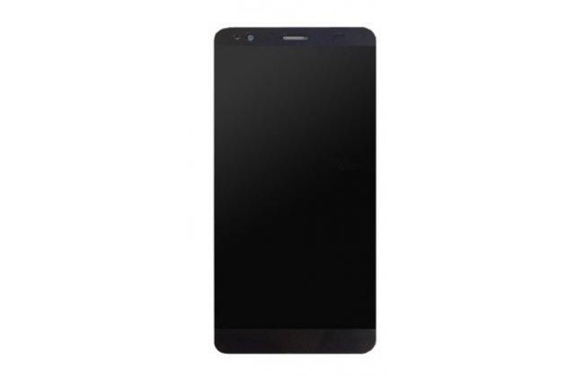 Фирменный LCD-ЖК-сенсорный дисплей-экран-стекло с тачскрином на телефон Fly FS553 Cirrus 9 черный + гарантия
