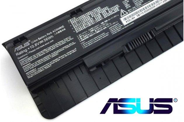 Фирменная аккумуляторная батарея 5200mAh A32LI9H/ A32N1405 на ноутбук Asus N551/ N751J/ N751JM/ G551JK/ G551JW/ G771JW + гарантия