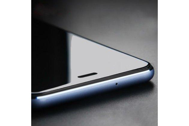 Фирменное защитное закалённое противоударное стекло премиум-класса из качественного японского материала с олеофобным покрытием для телефона Huawei P10 Plus