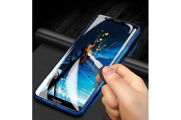 "Фирменная оригинальная защитная пленка для телефона Huawei Honor 8X (JSN-L21) 6.5"" глянцевая"