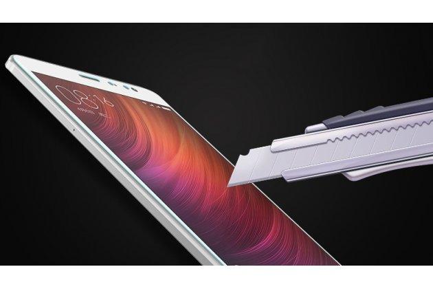 """Фирменное защитное закалённое противоударное стекло для телефона Huawei Honor 8X Max (ARE-AL00) 7.12"""" из качественного японского материала премиум-класса с олеофобным покрытием"""