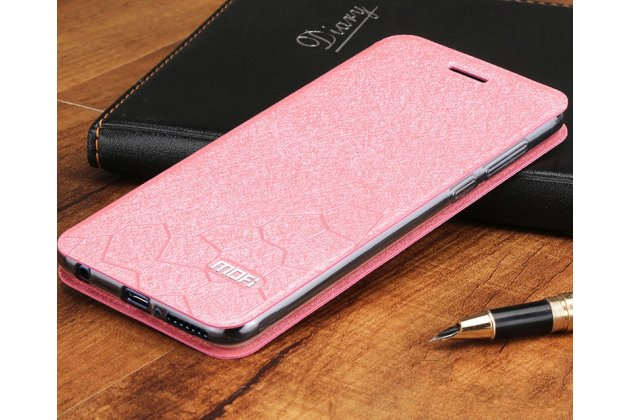 "Фирменный чехол-книжка водоотталкивающий с мульти-подставкой для Huawei Honor 8X (JSN-L21) 6.5"" с декором розовый"
