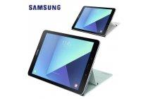 Фирменный оригинальный подлинный чехол с логотипом для Samsung Galaxy Tab S3 9.7 SM-T820/T825 Book Cover светло-голубого цвета