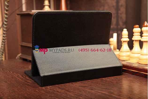 Чехол-обложка для bb-mobile Techno 7.0 3G TM756A кожаный цвет в ассортименте