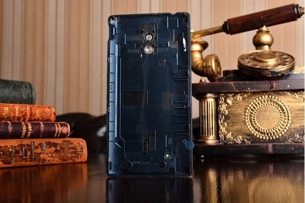 Родная оригинальная задняя крышка-панель которая шла в комплекте для Sony Xperia ZL L35h (C6502/C6503) черная