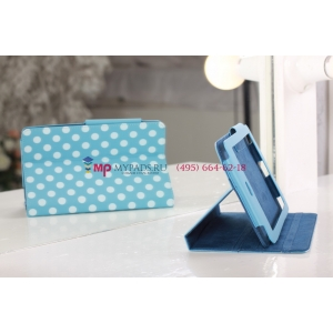 Чехол для Asus Google Nexus 7 бело-голубой далматинец