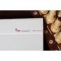 Фирменный чехол для Google Samsung Nexus 10 белый кожаный