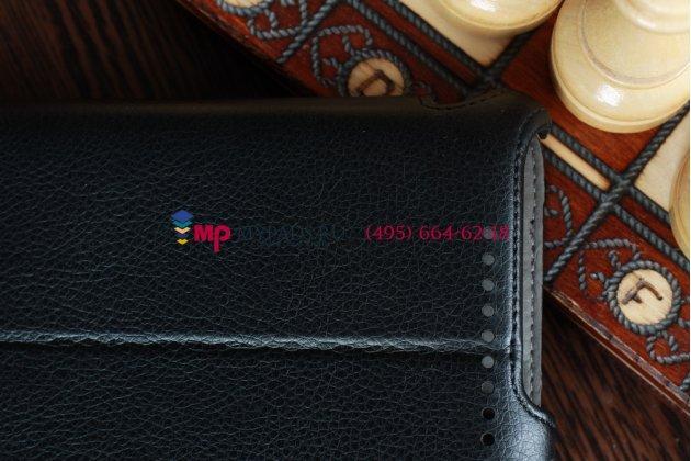"""Чехол для Asus Google Nexus 7 черный кожаный """"Deluxe"""""""