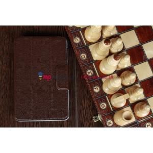 Чехол для Asus Google Nexus 7 коричневый кожаный