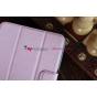 Чехол для Asus Google Nexus 7 1-го поколения 2012 розовый кожаный