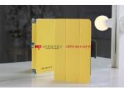 Фирменный чехол-обложка для Asus Google Nexus 7 1-го поколения 2012 желтый кожаный..