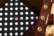 Чехол-обложка для Google Nexus 7 черно-белый далматинец