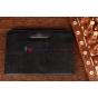Фирменный чехол для Google Samsung Nexus 10 черный с застежкой кожаный