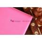 Фирменный чехол для Google Samsung Nexus 10 малиновый с застежкой кожаный