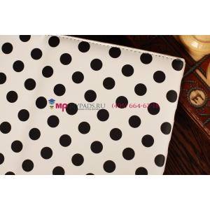 Фирменный чехол для Samsung Google Nexus 10 черно-белый далматинец