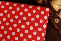 Фирменный чехол для Samsung Google Nexus 10 красно-белый далматинец