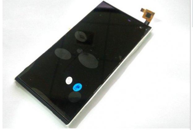 Фирменный LCD-ЖК-сенсорный дисплей-экран-стекло с тачскрином на телефон iNew V7 / V7A черный + гарантия