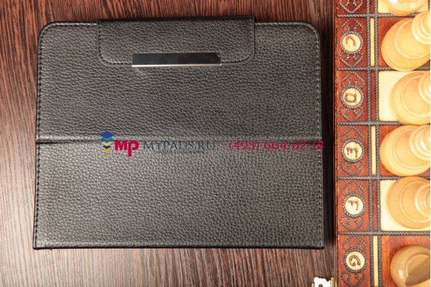 Чехол-обложка для iRu Pad Master B1001GW 2Gb 32Gb SSD 3G кожаный цвет в ассортименте