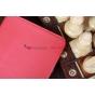 Чехол закрытого типа из мягкой кожи для iPad Mini красный