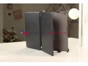 Чехол для iPad Mini черный кожаный