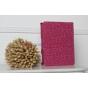 Фирменный чехол-обложка для iPad 2/3/4 леопардовый розовый кожаный..