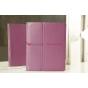 Фирменный чехол-обложка для iPad2/3/4 фиолетовый кожаный..