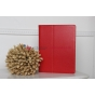 Фирменный чехол-книжка для iPad2/3//4 красный кожаный..